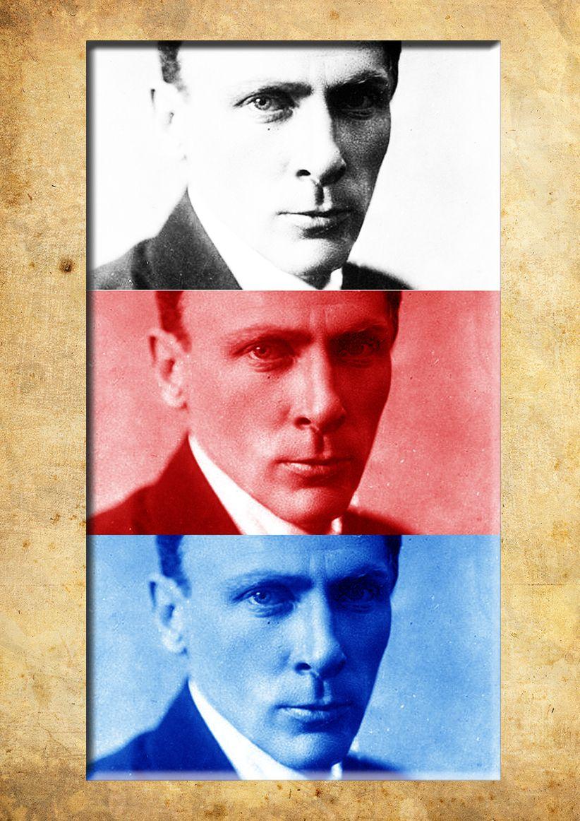 Плакат-портрет Михаила Булгакова - дизайнер m0nch