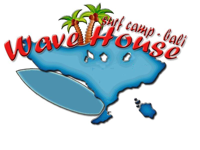 Редизайн логотипа для серф-кэмпа на Бали - дизайнер bayd