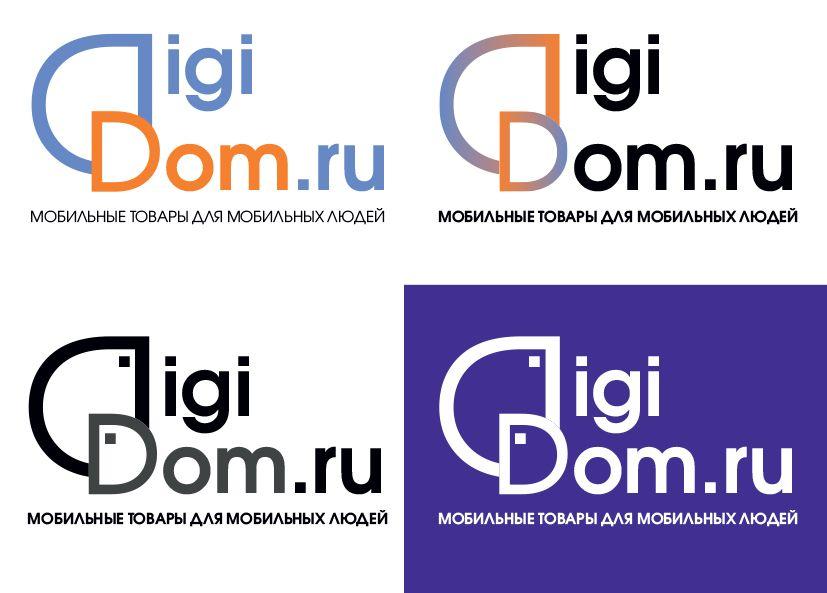 Логотип интернет-магазина мобильных устройств - дизайнер lilu