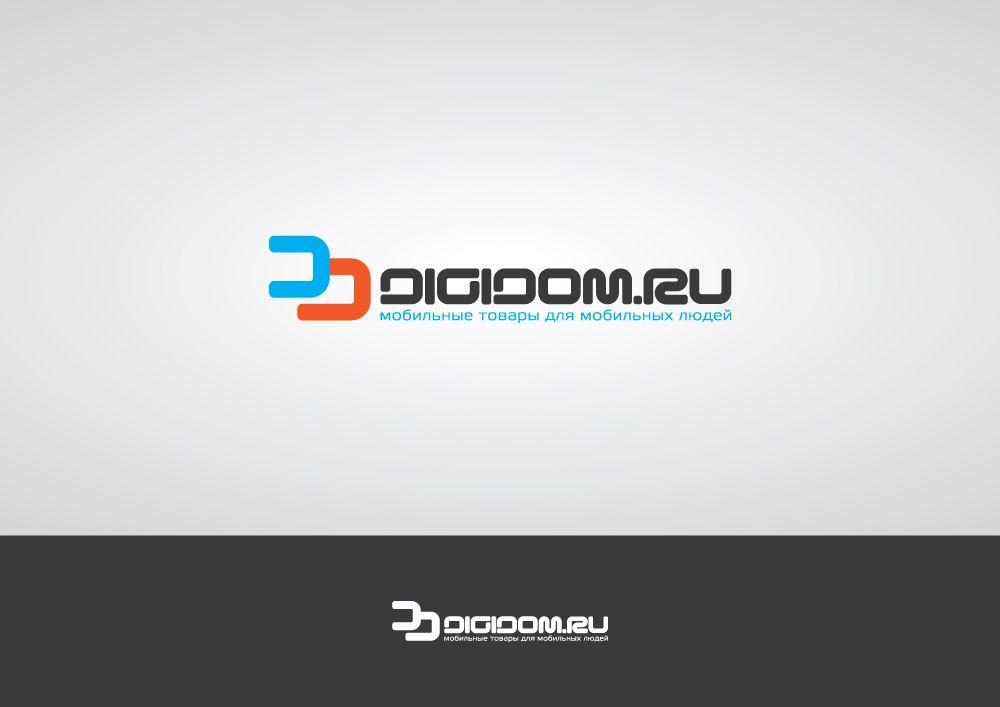 Логотип интернет-магазина мобильных устройств - дизайнер zanru