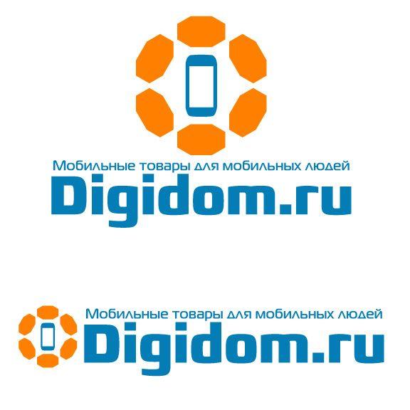 Логотип интернет-магазина мобильных устройств - дизайнер zhutol