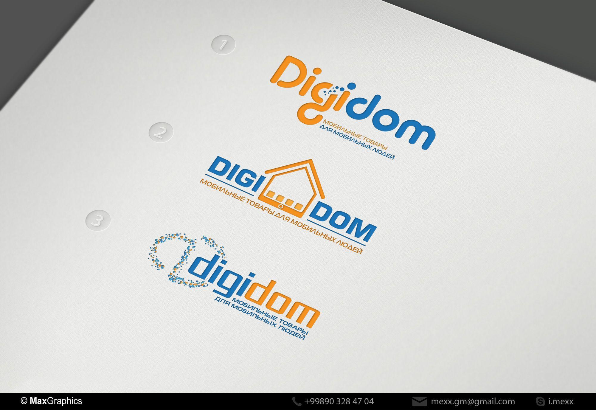 Логотип интернет-магазина мобильных устройств - дизайнер Kreativa