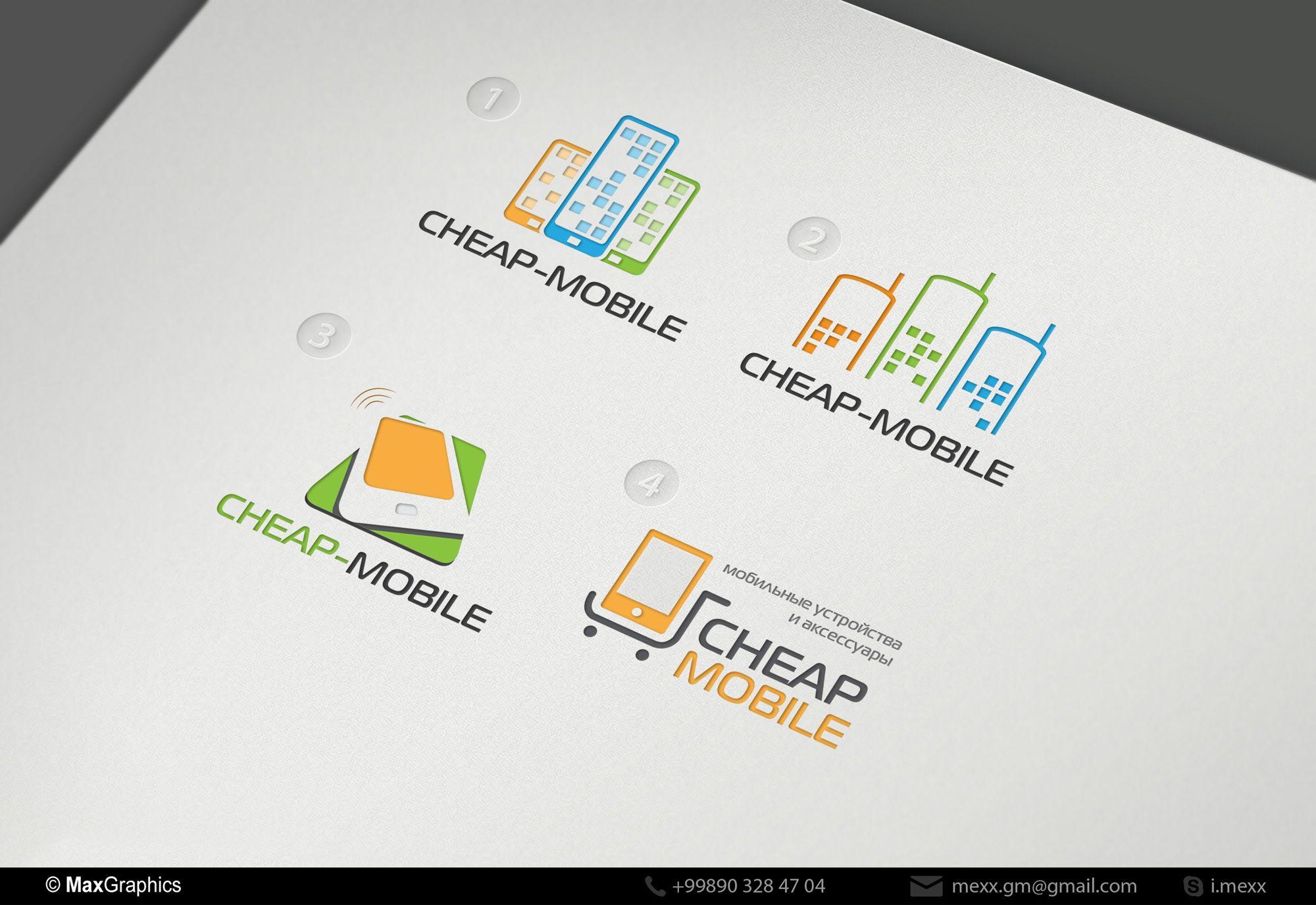Лого и фирменный стиль для ИМ (Мобильные телефоны) - дизайнер Kreativa