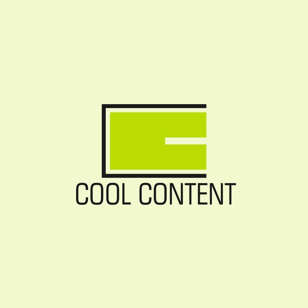 Лого для агентства Cool Content - дизайнер everypixel