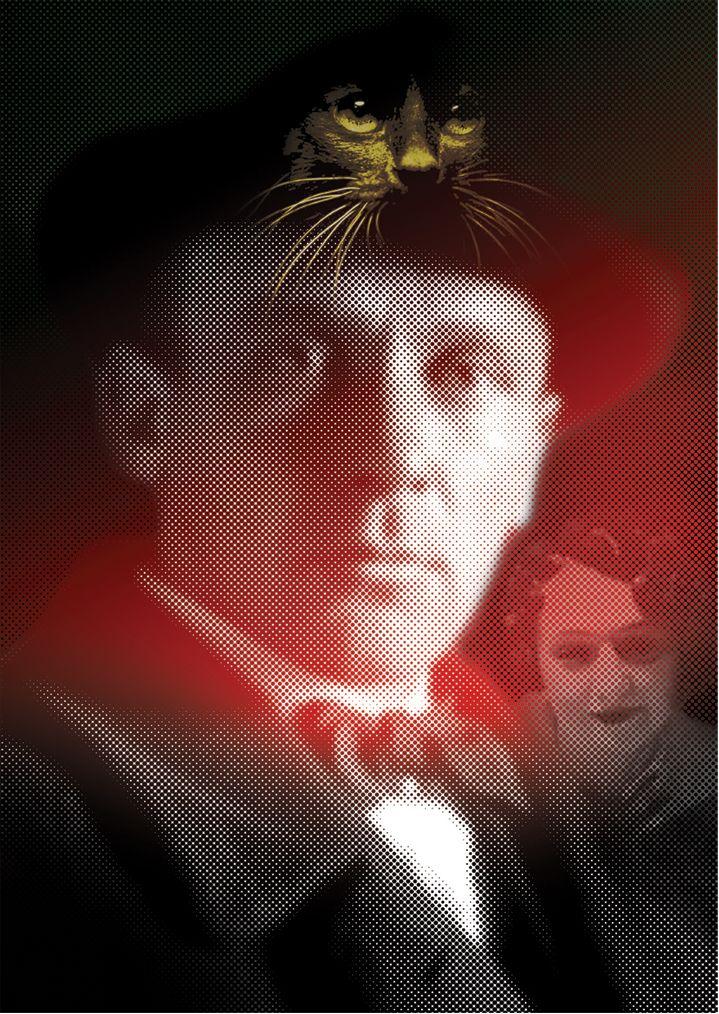 Плакат-портрет Михаила Булгакова - дизайнер Krakazjava