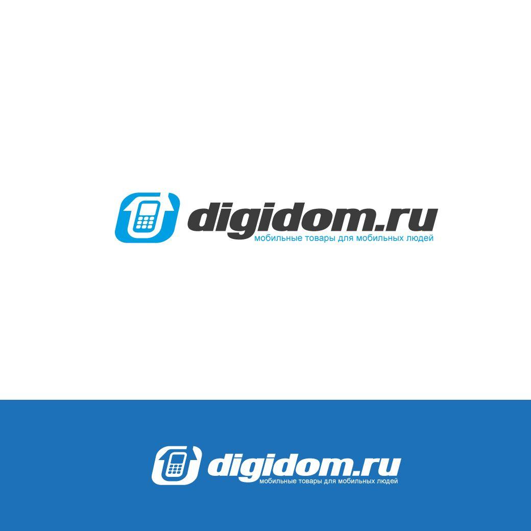 Логотип интернет-магазина мобильных устройств - дизайнер STAF