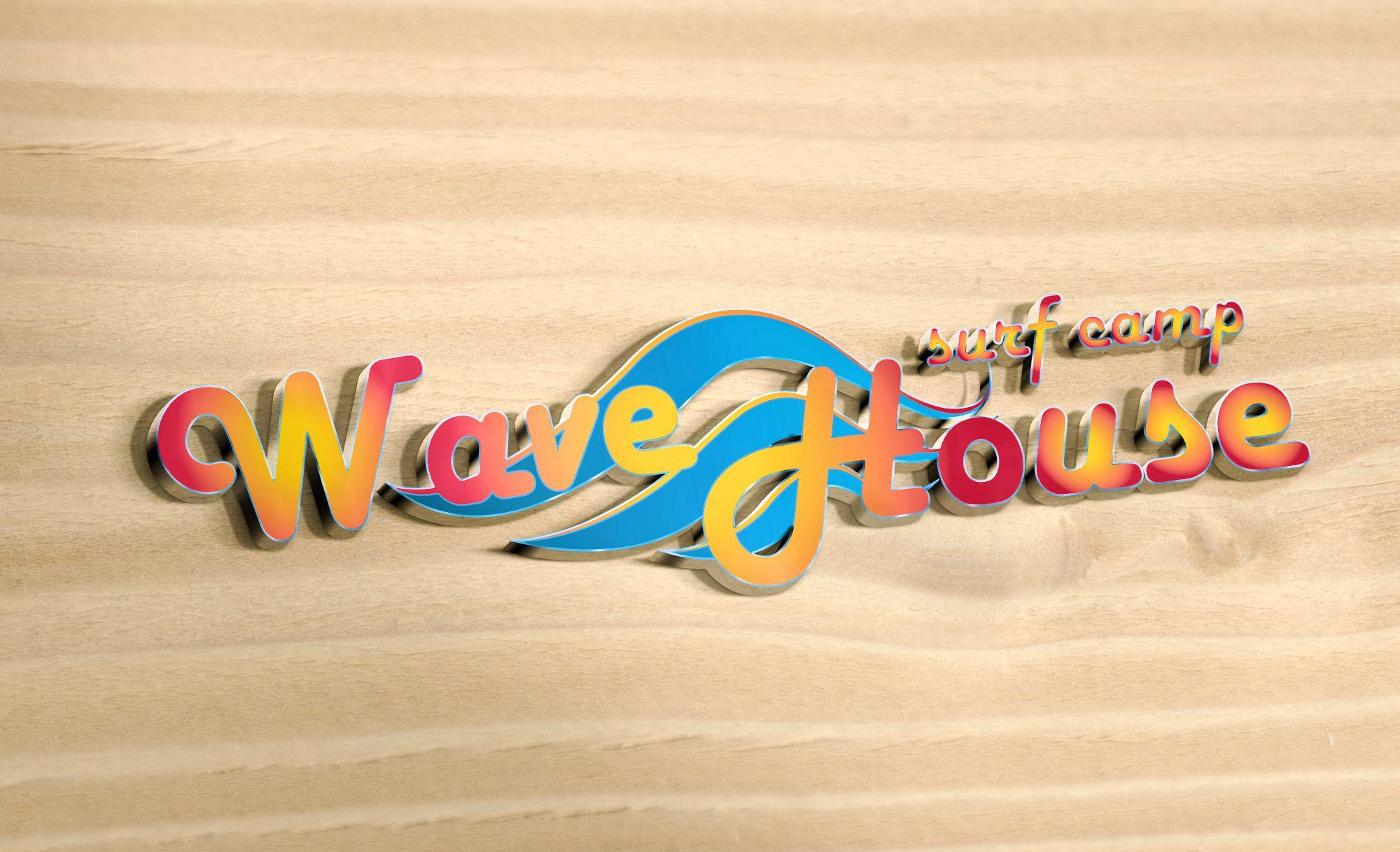Редизайн логотипа для серф-кэмпа на Бали - дизайнер Gas-Min