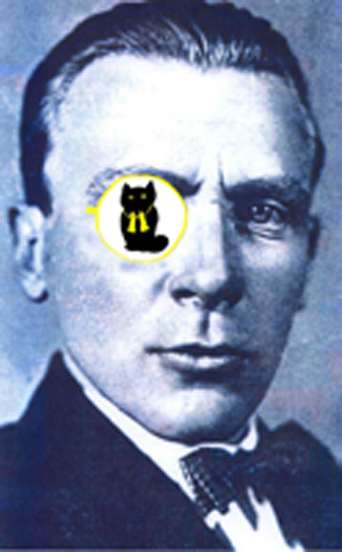 Плакат-портрет Михаила Булгакова - дизайнер staroorlovskaya