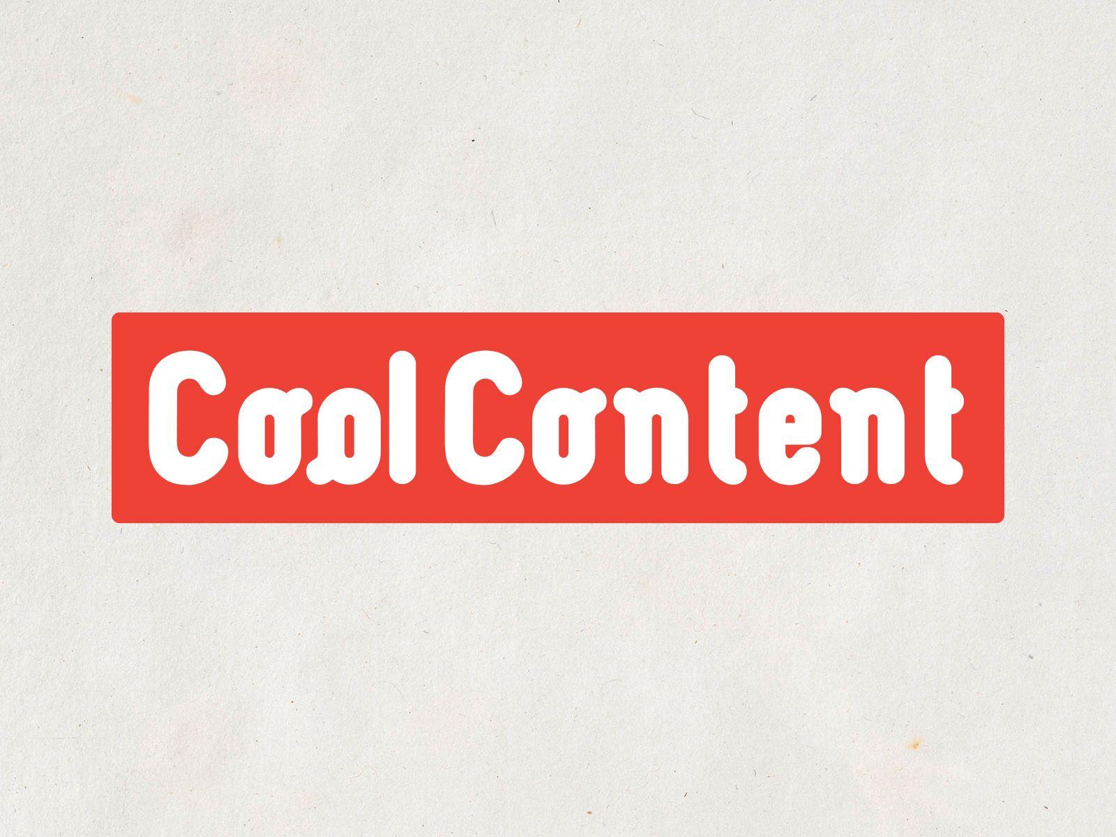 Лого для агентства Cool Content - дизайнер UkkoKarhunen