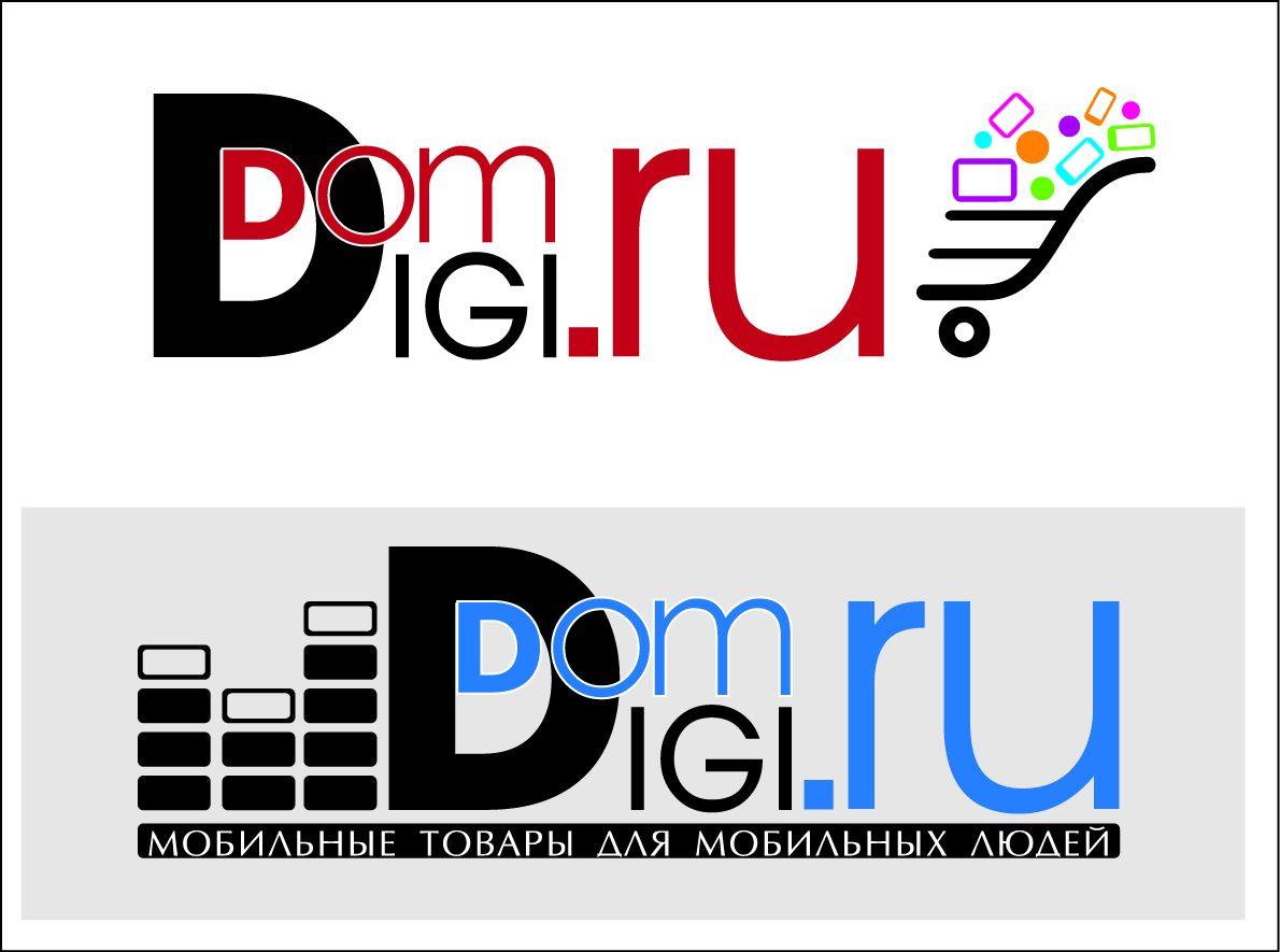 Логотип интернет-магазина мобильных устройств - дизайнер mariasha01