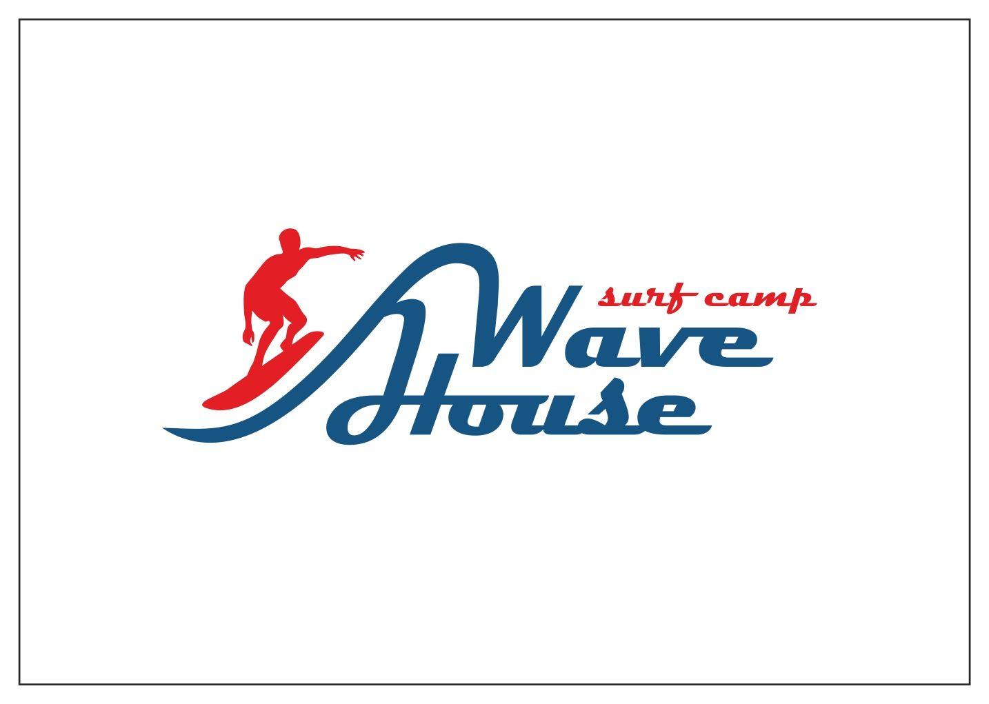 Редизайн логотипа для серф-кэмпа на Бали - дизайнер zooosad