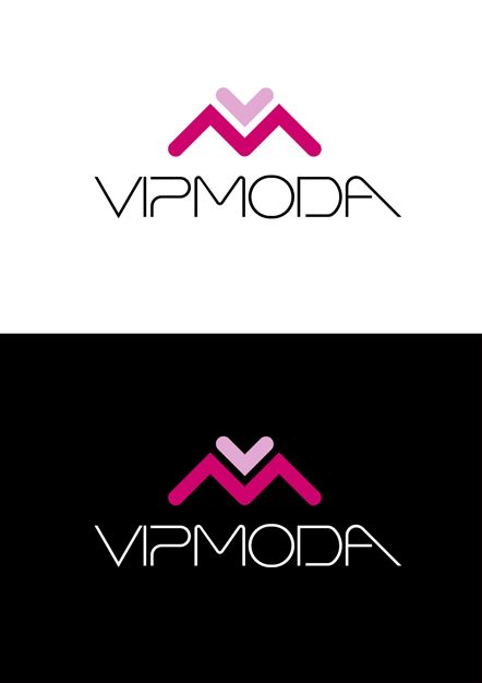 Лого и фирменный стиль компании ВИПМОДА  - дизайнер Krakazjava