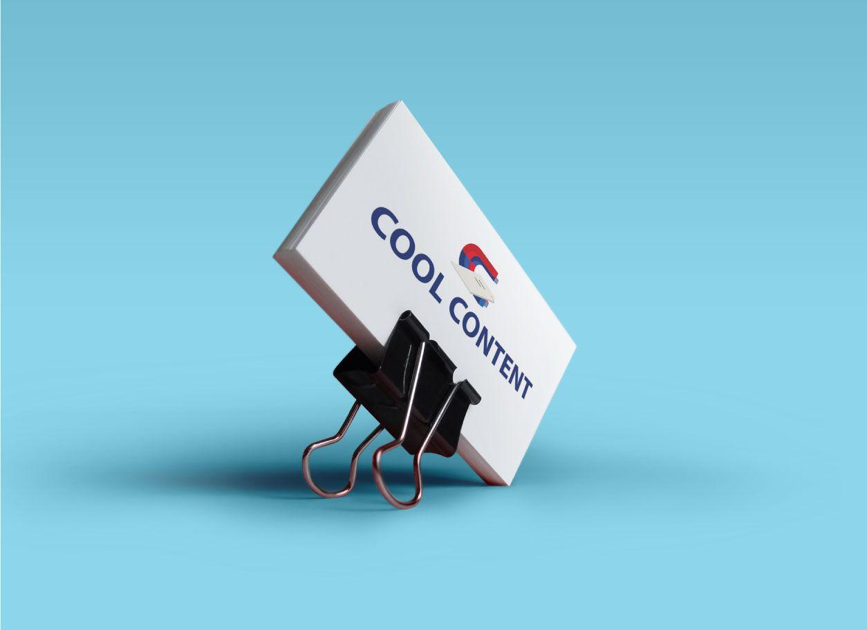 Лого для агентства Cool Content - дизайнер filk