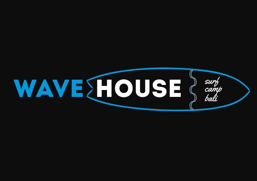 Редизайн логотипа для серф-кэмпа на Бали - дизайнер SashaBur