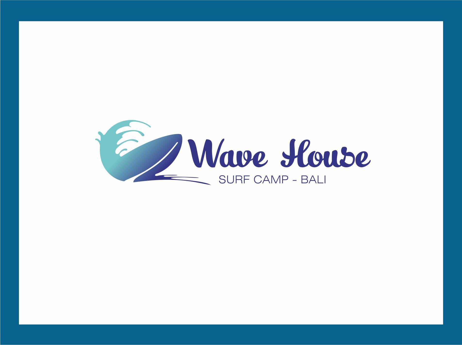 Редизайн логотипа для серф-кэмпа на Бали - дизайнер Re-gi-na