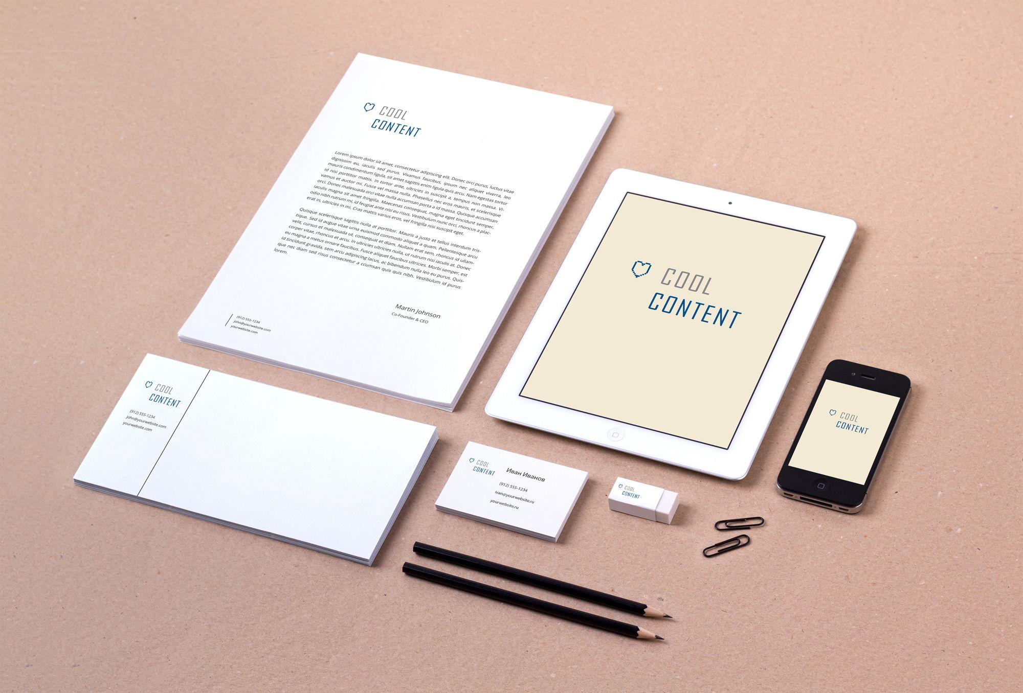 Лого для агентства Cool Content - дизайнер Alena_Little