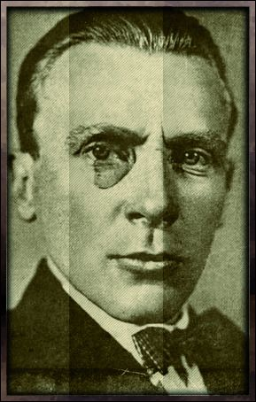 Плакат-портрет Михаила Булгакова - дизайнер Corbeau