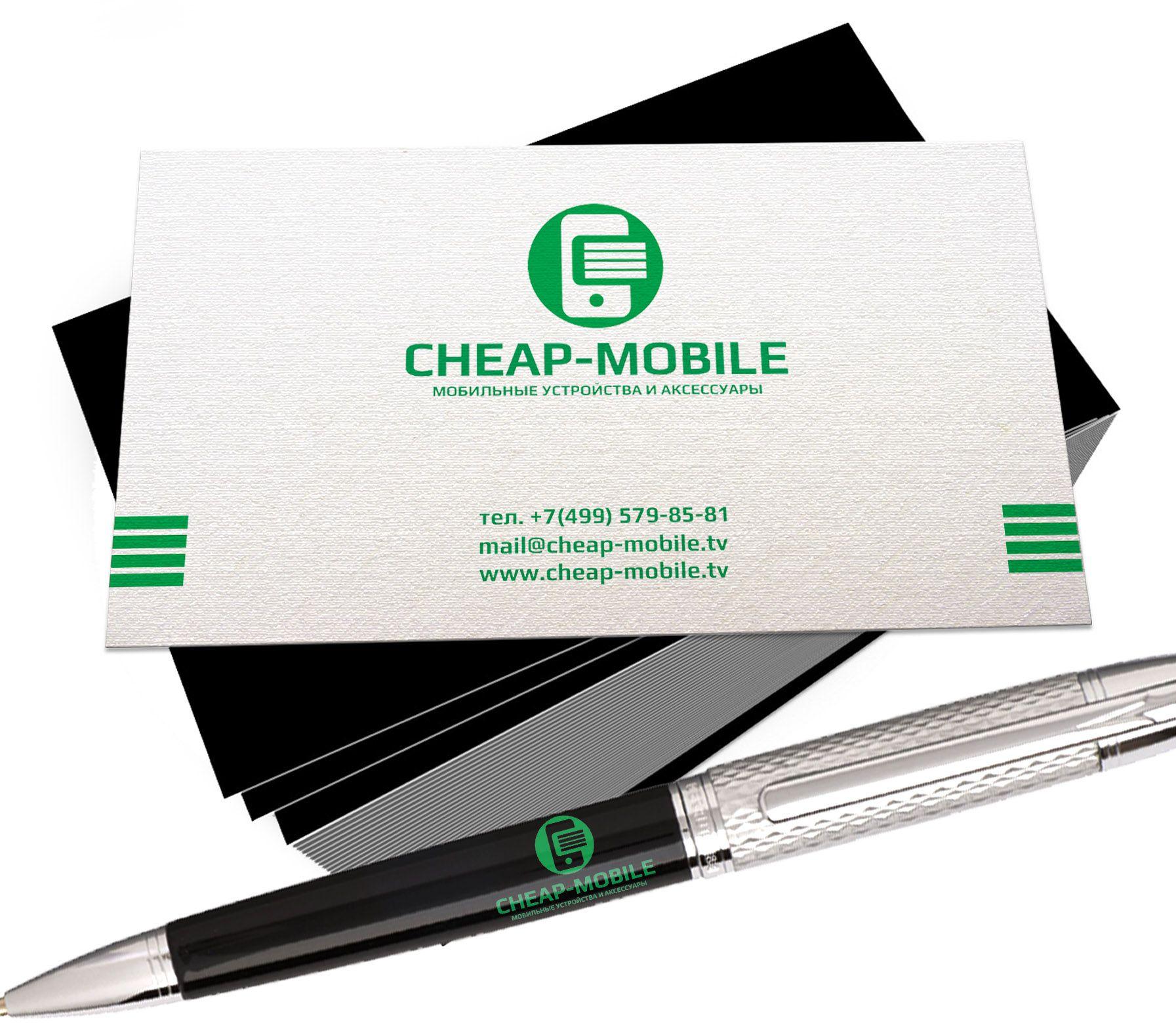 Лого и фирменный стиль для ИМ (Мобильные телефоны) - дизайнер Scorp