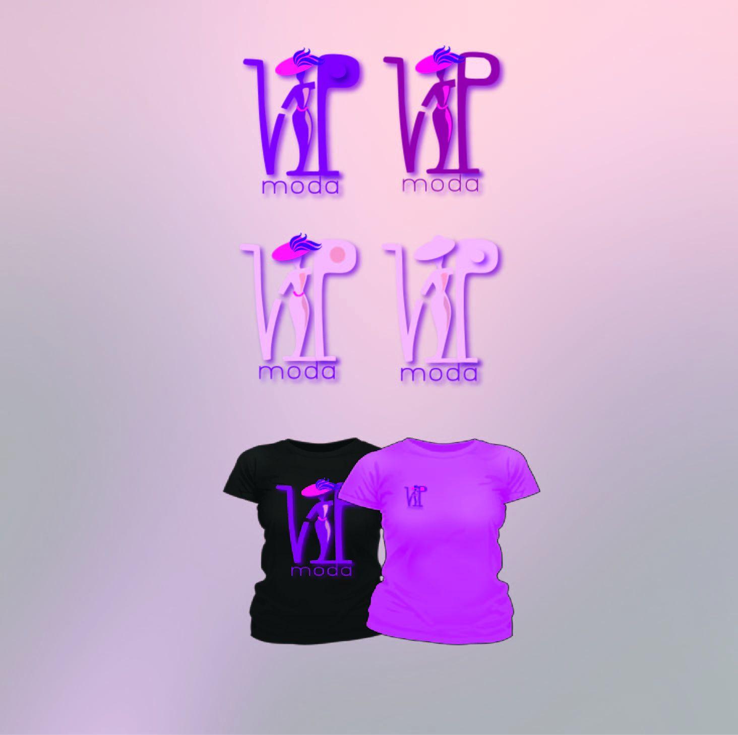 Лого и фирменный стиль компании ВИПМОДА  - дизайнер Victory17