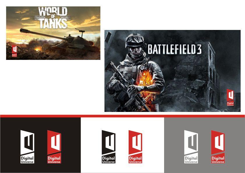 логотип для компании-разработчика ММО-игр - дизайнер Yak84