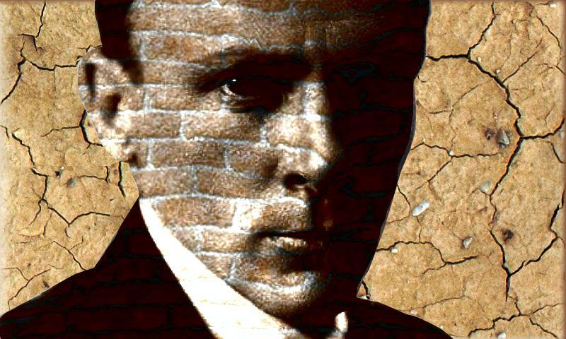 Плакат-портрет Михаила Булгакова - дизайнер ForceFox