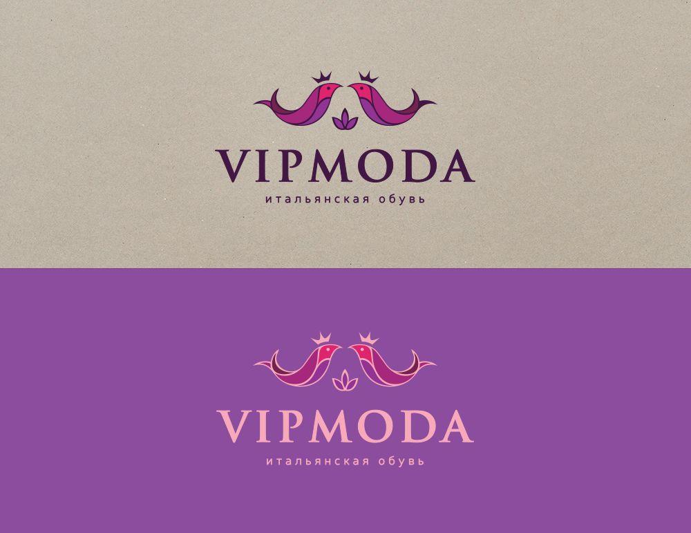 Лого и фирменный стиль компании ВИПМОДА  - дизайнер MUMAMUMA