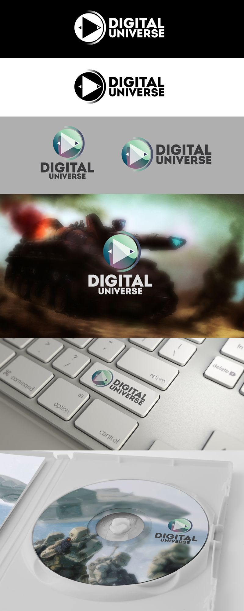 логотип для компании-разработчика ММО-игр - дизайнер Small_