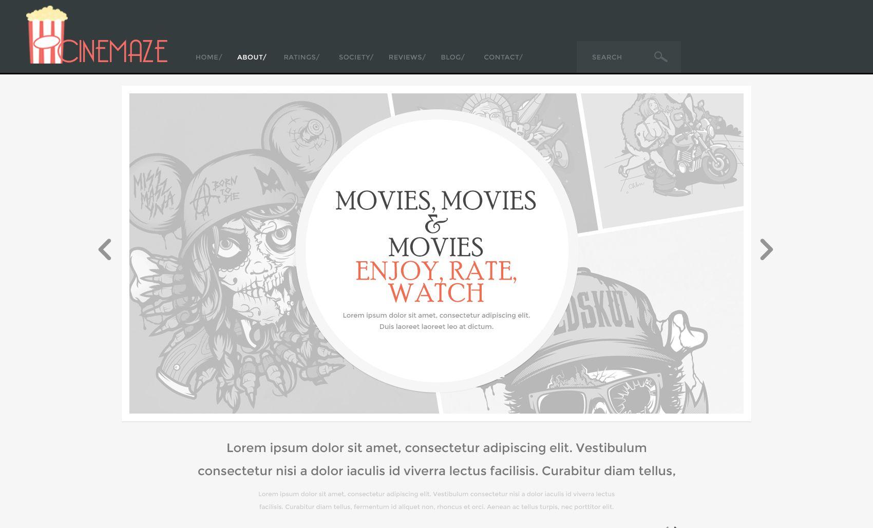 Логотип для кино-сайта - дизайнер swinefoxy