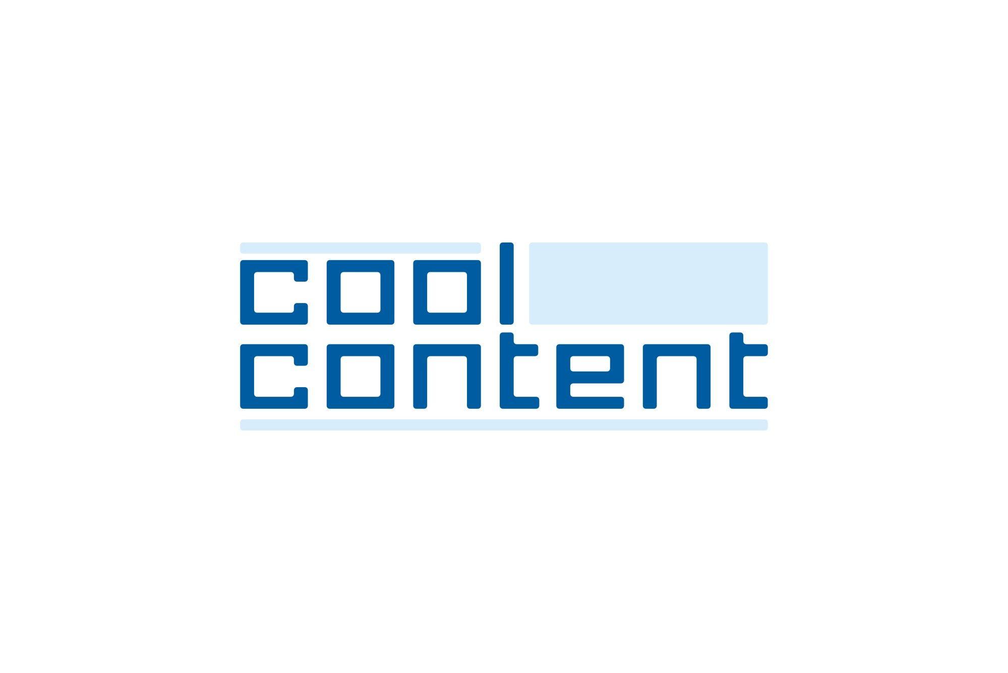 Лого для агентства Cool Content - дизайнер IbrAzieV
