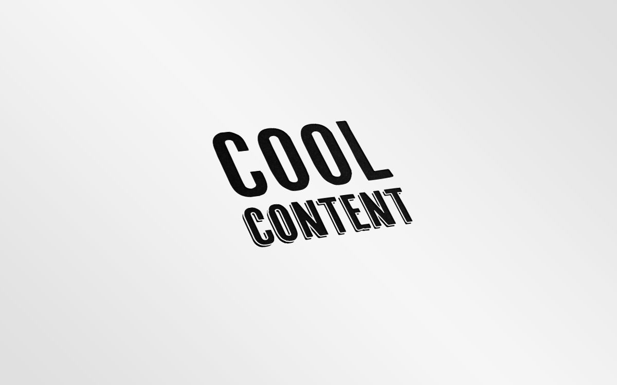Лого для агентства Cool Content - дизайнер Dasha_Gizma