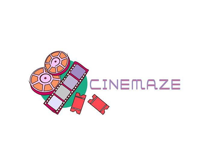 Логотип для кино-сайта - дизайнер juneadks