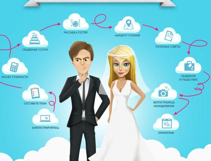 Логотип для свадебного портала - дизайнер STAF