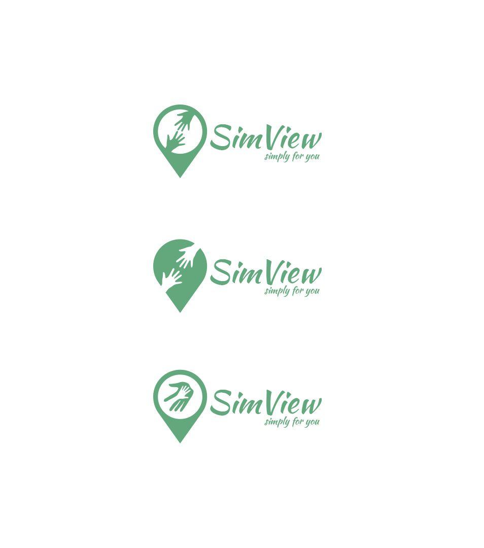 SimView лого и фирменный стиль - дизайнер mancj