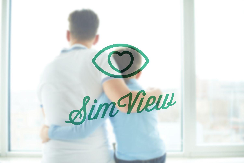 SimView лого и фирменный стиль - дизайнер annka_221