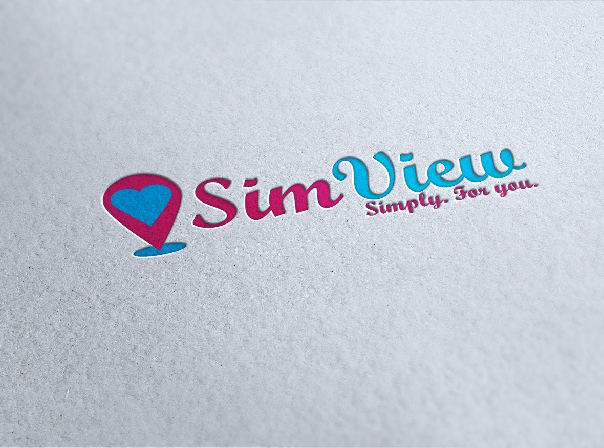 SimView лого и фирменный стиль - дизайнер lsdes