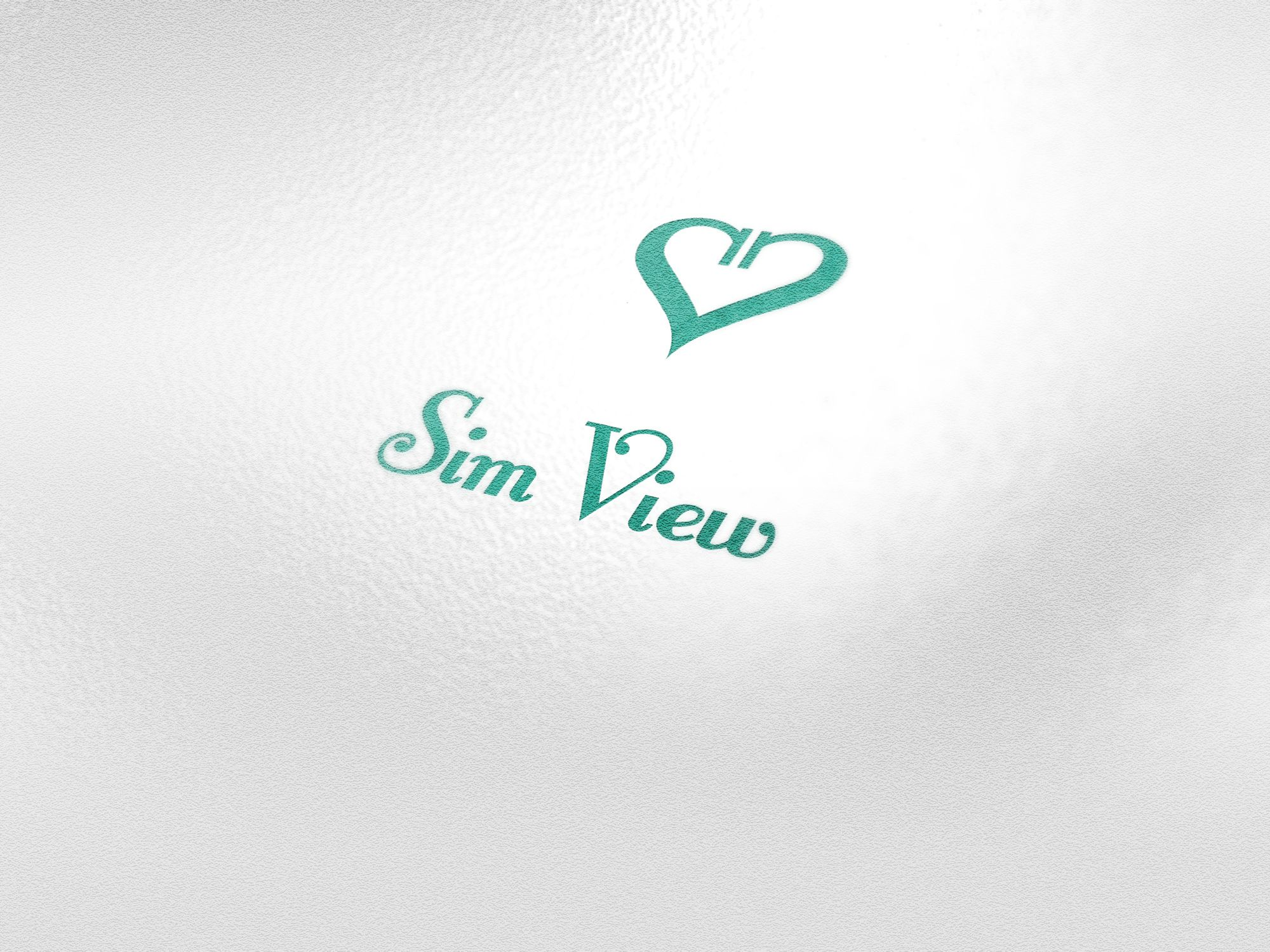 SimView лого и фирменный стиль - дизайнер PelmeshkOsS