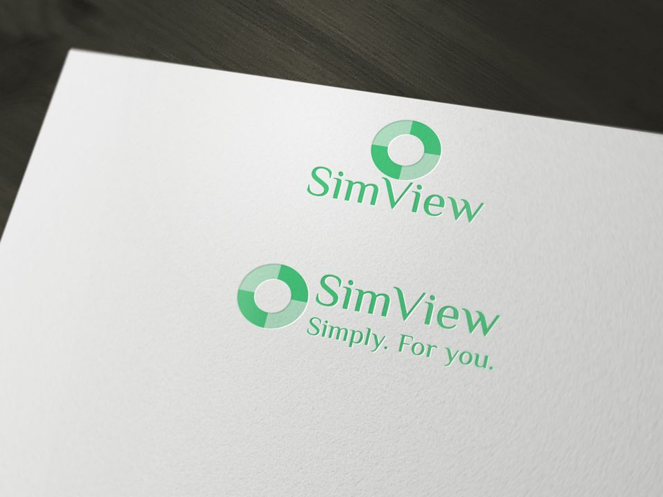 SimView лого и фирменный стиль - дизайнер Advokat72