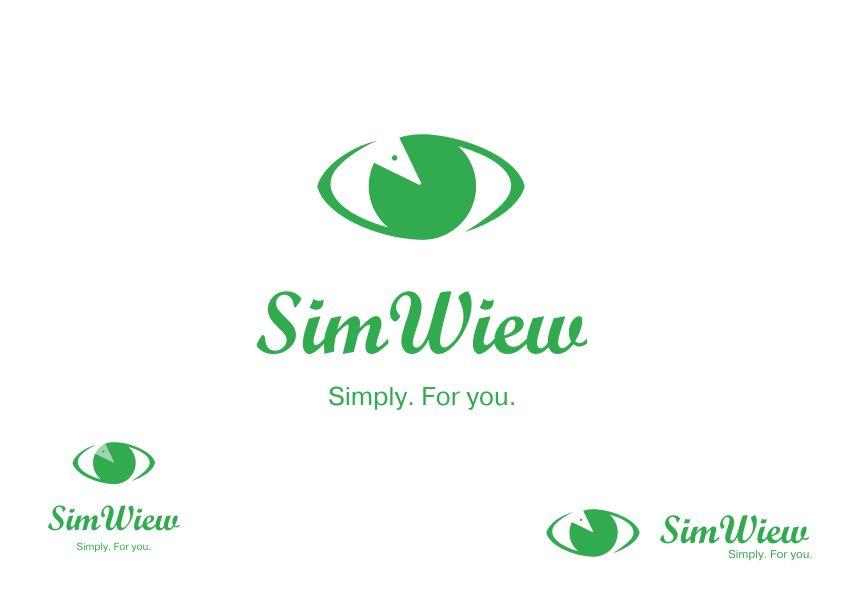 SimView лого и фирменный стиль - дизайнер Yak84