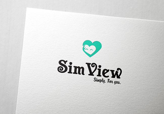 SimView лого и фирменный стиль - дизайнер elfasoul88