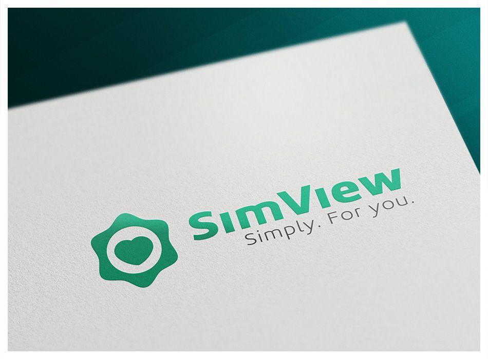 SimView лого и фирменный стиль - дизайнер stulgin