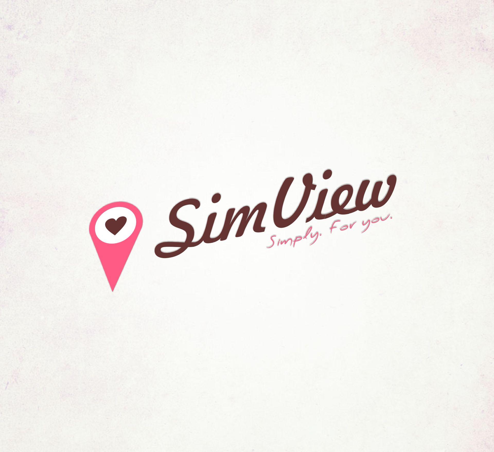 SimView лого и фирменный стиль - дизайнер ElenaCHEHOVA