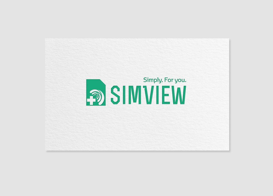 SimView лого и фирменный стиль - дизайнер mz777