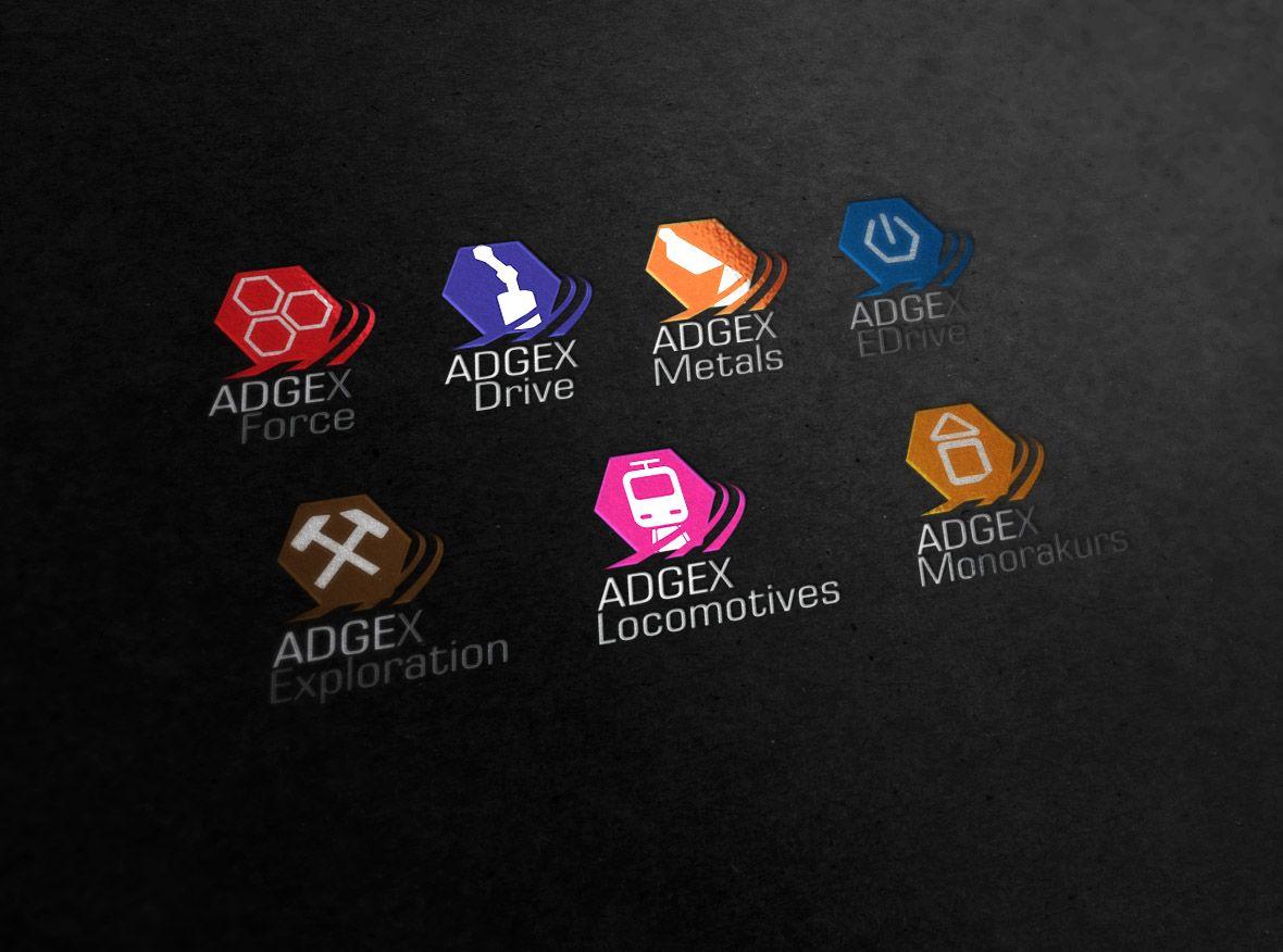 Набор логотипов для подразделений компании - дизайнер lsdes