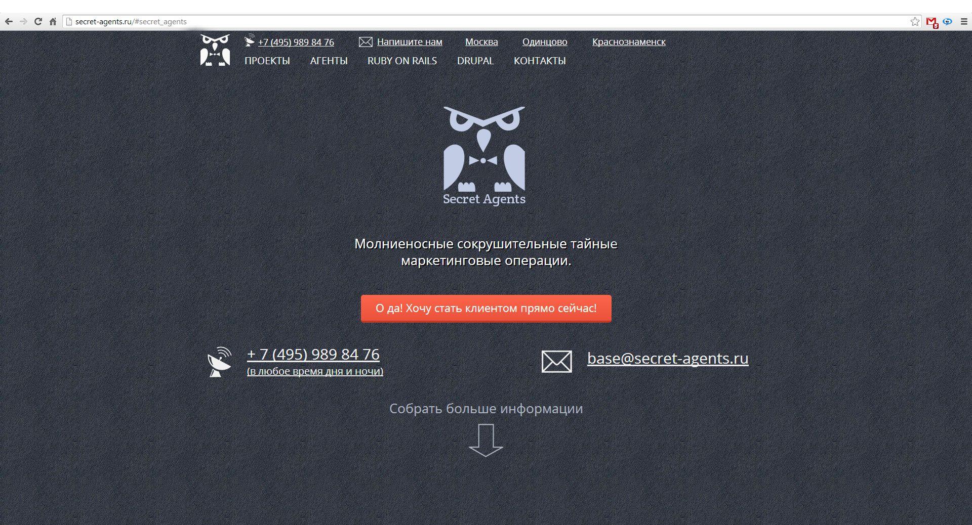 Логотип для веб-разработчика Secret Agents - дизайнер Novikov_M