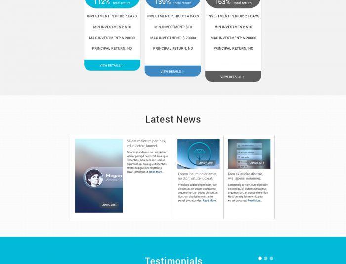 Разработка дизайна главной страницы - дизайнер helena17771