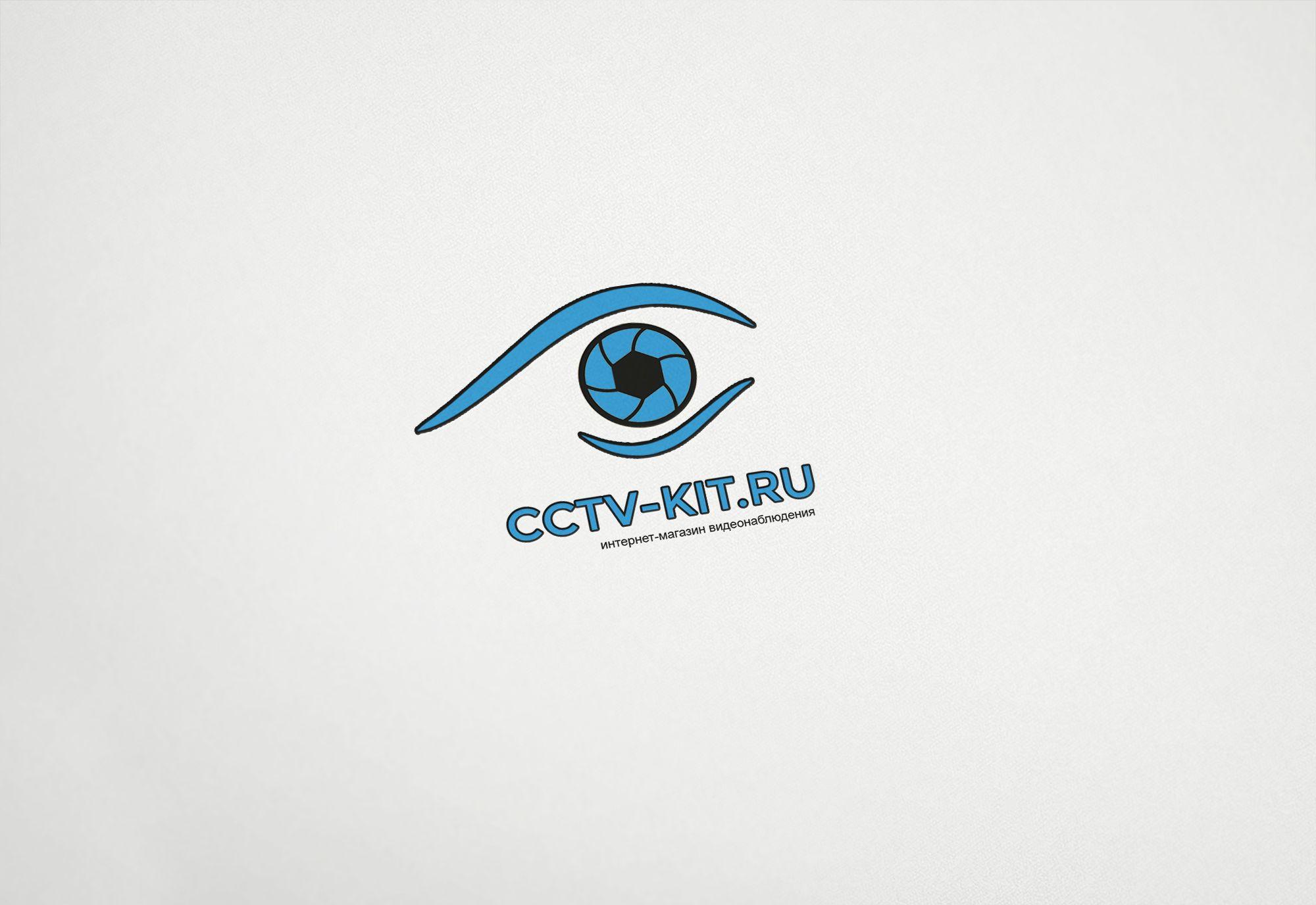 Логотип для интернет-магазина видеонаблюдения - дизайнер PelmeshkOsS
