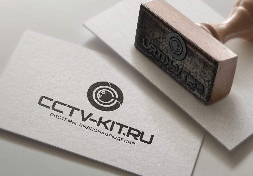 Логотип для интернет-магазина видеонаблюдения - дизайнер zozuca-a