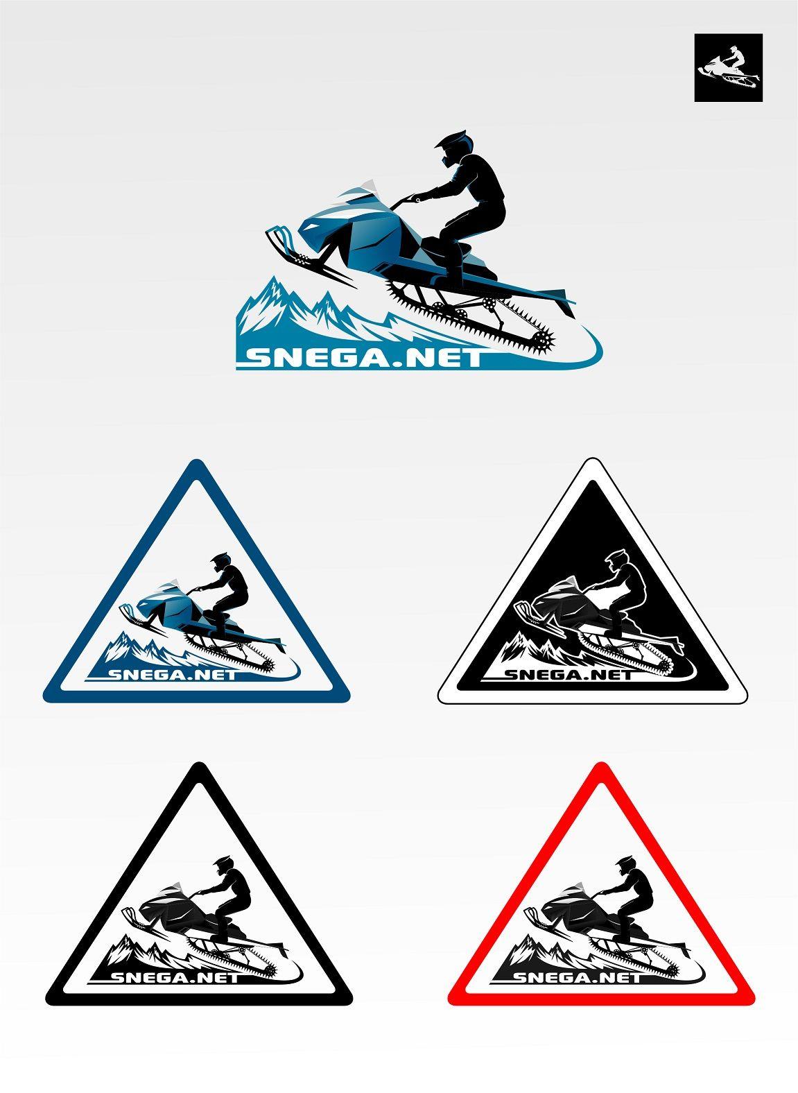 Разработка логотипа для сайта snega.net - дизайнер La_persona