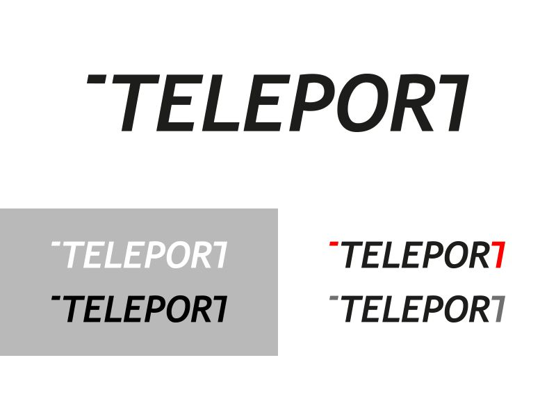 Логотип для Телепорт - дизайнер hudzovskyj