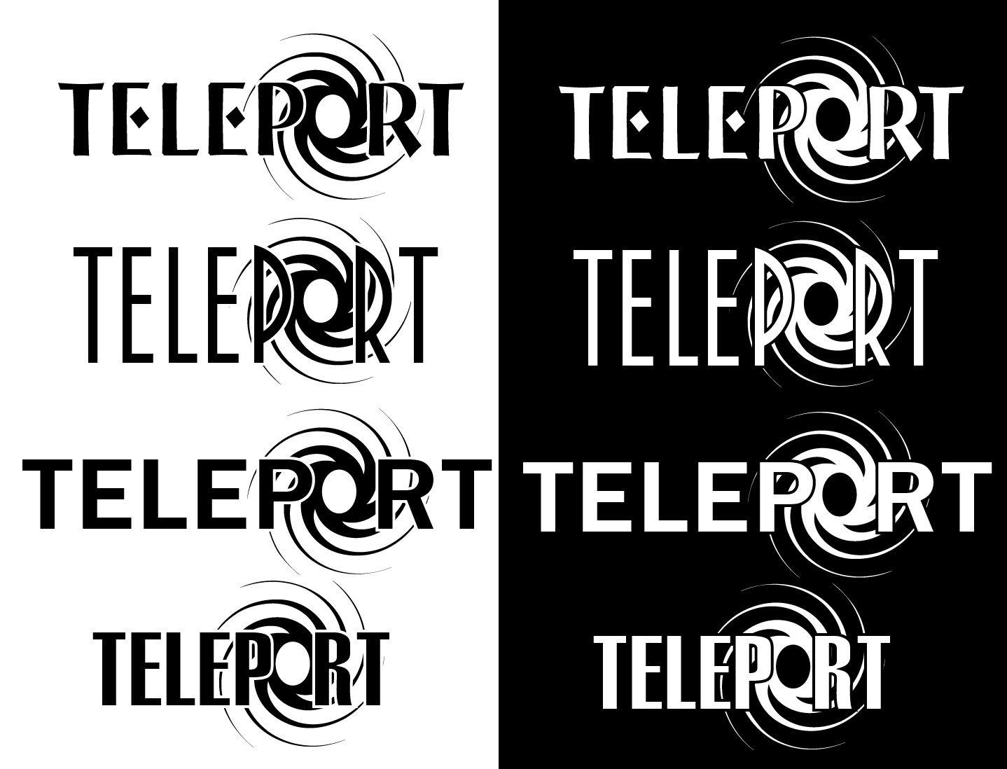 Логотип для Телепорт - дизайнер velo